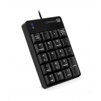 CONNECT IT NumCALC drátová numerická klávesnice, ČERNÁ