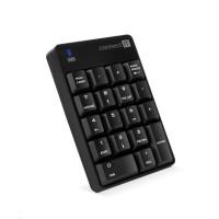 CONNECT IT NumCALC bezdrátová numerická klávesnice, (+ 1x AAA baterie zdarma), ČERNÁ