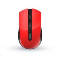 RAPOO myš 7200M Multi-mode bezdrátová, červená