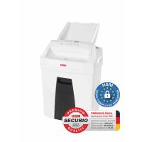HSM skartovač Securio AF100 (řez: Kombinovaný 4x25mm | vstup: 225mm | DIN: P-4 | papír, sponky, plast. karty)