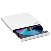 HITACHI LG - externí mechanika DVD-W/CD-RW/DVD±R/±RW/RAM GP57EW40, Slim, White, box+SW