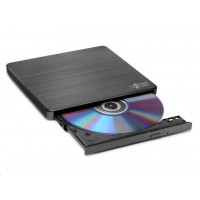 HITACHI LG - externí mechanika DVD-W/CD-RW/DVD±R/±RW/RAM GP60NB60, Slim, Black, box+SW