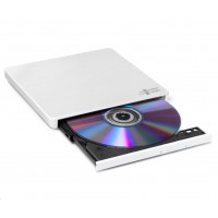 HITACHI LG - externí mechanika DVD-W/CD-RW/DVD±R/±RW/RAM GP60NW60, Slim, White, box+SW