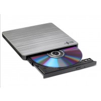 HITACHI LG - externí mechanika DVD-W/CD-RW/DVD±R/±RW/RAM GP60NS60, Slim, Silver, box+SW