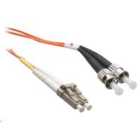 Duplexní patch kabel MM 62,5/125 OM1, LC-ST, 1m