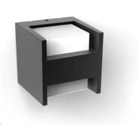 PHILIPS Fuzo Venkovní nástěnné svítidlo, Hue White, tvar H, integr.LED, Antracit