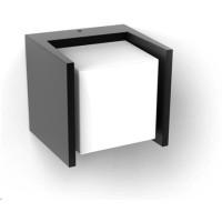 PHILIPS Fuzo Venkovní nástěnné svítidlo, Hue White, tvar II, integr.LED, Antracit