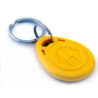 ESES klíčenka RFID, 125 KHz žlutý, vyražené číslo, 100-pack