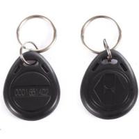 ESES klíčenka RFID, 13,56 MHz černý, vyražené číslo, 100-pack
