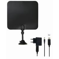 EVOLVEO Xany 2C LTE, 41dBi aktivní pokojová anténa DVB-T/T2, LTE filtr, RED certifikát