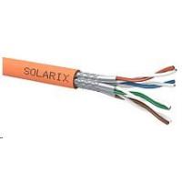 Instalační kabel Solarix SSTP, Cat7, drát, LSOHFR, cívka 500m
