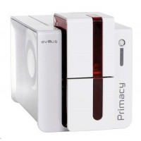 Evolis Primacy tiskárna karet, single sided, 12 dots/mm (300 dpi), USB, Ethernet, red