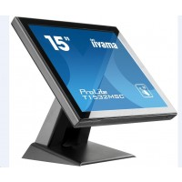 Iiyama ProLite T1532MSC-B5AG, 38.1 cm (15''), Projected Capacitive, 10 TP, black