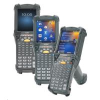 Zebra MC9200 Premium, 1D, Lorax, BT, Wi-Fi, Gun, disp., IST, WEC 7