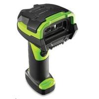 Zebra LI3608-ER, 1D, ER, multi-IF, kit (USB), black, zelená