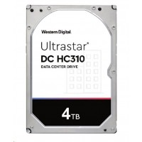 Western Digital Ultrastar® HDD 4TB (HUS726T4TALE6L1) DC HC310 3.5in 26.1MM 256MB 7200RPM SATA 512E TCG