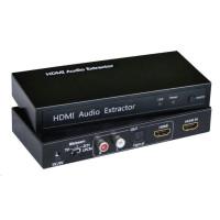 CONRAD SpeaKa Professional SP-AE-H/TC-02 SP-4916320 Audio extraktor HDMI na HDMI, 2xcinch, Toslink