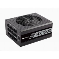 CORSAIR zdroj, HX1000-80 PLUS® PLATINUM Certified PSU (ATX, 1000W, Modular)