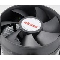 AKASA Chladič CPU AK-CCE-7105EP pro Intel  LGA 775 a 1156, 92mm PWM ventilátor, do 95W