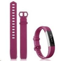 eses silikonový řemínek fialový ve velikosti S pro Fitbit Alta HR