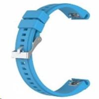eses silikonový řemínek modrý pro Garmin Fenix 3/5X/5X Plus/5X Sapphire/3HR