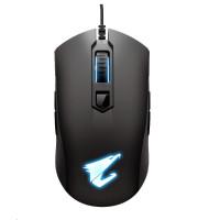 GIGABYTE Myš Gaming Mouse AORUS M4, USB, Optical, up to 6400 DPI