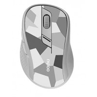 RAPOO myš M500 Silent Multi-mode Wireless Optical Mouse, Grey