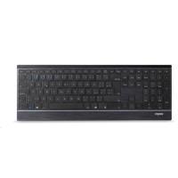RAPOO klávesnice a myš 9500M Multi-mode Wireless Ultra-slim Desktop Combo Set (kláv. - šedá/kovová, myš - černá)