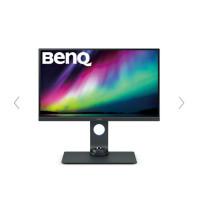 "BENQ MT LCD LED 24,1"" SW270C,2560x1440,300nits,1000:1,5ms,DVI-DL,DP,USB,H/Wcalibration,kabel miniDP-DP, DVI,USB"
