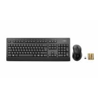 FUJITSU Klávesnice a myš bezdrátový set - LX960 CZ/SK - Wireless KB Mouse Set