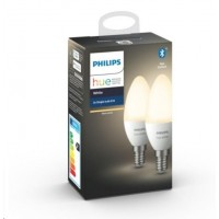 PHILIPS Hue White, 2x žárovka svíčková 5,5W E14 B39
