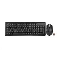A4tech 4200N set bezdr. kláv. + bezdr. V-Track optická myš,CZ/US, USB