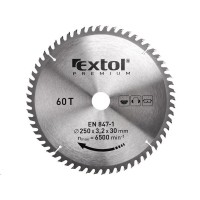 Extol Premium (8803257) kotouč pilový s SK plátky, 400x2,8x30mm, 60T