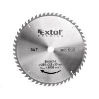 Extol Premium (8803252) kotouč pilový s SK plátky, 350x2,5x30mm, 54T