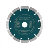 Extol Industrial (8703033) kotouč diamantový řezný segmentový Grab Cut, 150x22,2mm, suché i mokré řezání