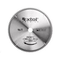 Extol Premium (8803248) kotouč pilový s SK plátky, 300x2,2x30mm, 96T