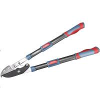 Extol Premium (8873316) nůžky na větve teleskopické převodové kovadlinkové, 670-940mm, HCS