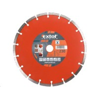 Extol Premium (108715) kotouč diamantový řezný segmentový, 230x22,2mm, suché řezání