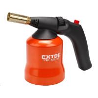 Extol Premium (8848105) hořák s piezo zapalováním na propichovací kartuše, pro propichovací plynové kartuše užívající pr