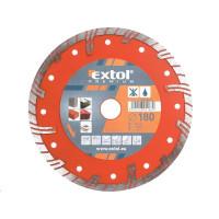 Extol Premium (8803034) kotouč diamantový řezný turbo plus, 180x22,2mm, suché i mokré řezání