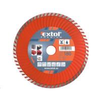 Extol Premium (108754) kotouč diamantový řezný turbo, 180x22,2mm, suché i mokré řezání