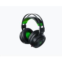 RAZER herní sluchátka Nari Ultimate pro Xbox One, černé, 2,4 GHz