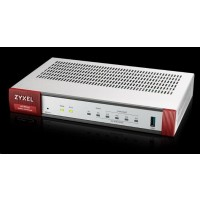 Zyxel ATP100 firewall, 1*WAN, 4*LAN/DMZ ports, 1*SFP, 1*USB with 1 Yr Bundle