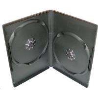 PP box 2DVD čierny push-up system (14mm) 100 ks/bal