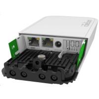 MikroTik RouterBOARD RBwAPGR-5HacD2HnD wAP, 716MHz, 128MB RAM, 2xGLAN, 2,4Ghz + 5GHz, 1xMiniPCIe, 1xmicroSIM, L4