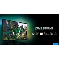 """ASUS MT 32"""" CG32UQ 4k(3840x2160), Console Gaming Monitor, Freesync for Xbox, PlayS. and Nintendo Sw, DP, HDMI, USB repro"""