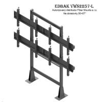 """EDBAK VWS2257L - televizní stěna 2x2 Tv do 57"""""""