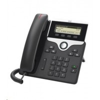 Cisco CP-7811-3PCC-K9=, VoIP telefon, 1line, 2x10/100, displej, PoE, 3PCC