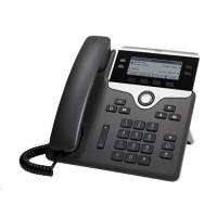 Cisco CP-7841-3PCC-K9=, VoIP telefon, 4line, 2x10/100/1000, displej, PoE
