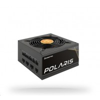 CHIEFTEC zdroj Polaris Series, PPS-650FC, 650W, ATX-12V V.2.4, PS2, 12cm fan, Active PFC, Modular, 80+ Gold